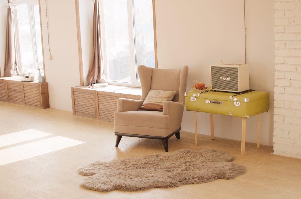 salon décoré et cosy